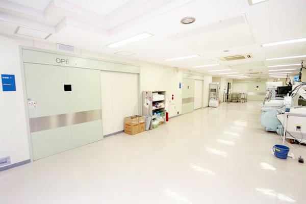 手術室前のホール