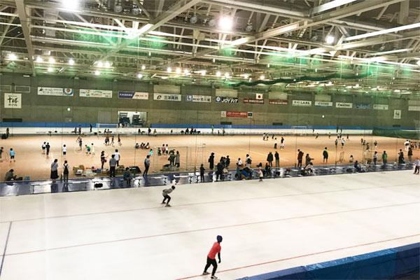 世界的なスケート大会も開催される「明治北海道十勝オーバル」