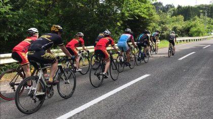 自転車トレーニングの様子