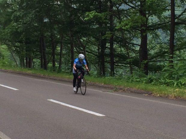 自転車インターバル