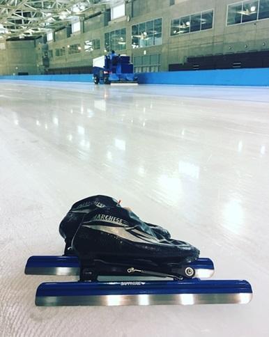 氷上トレーニング始まりました
