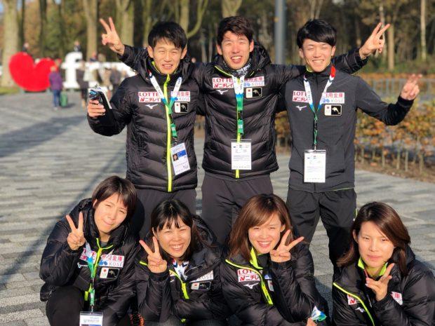 W杯スプリントチームメンバー